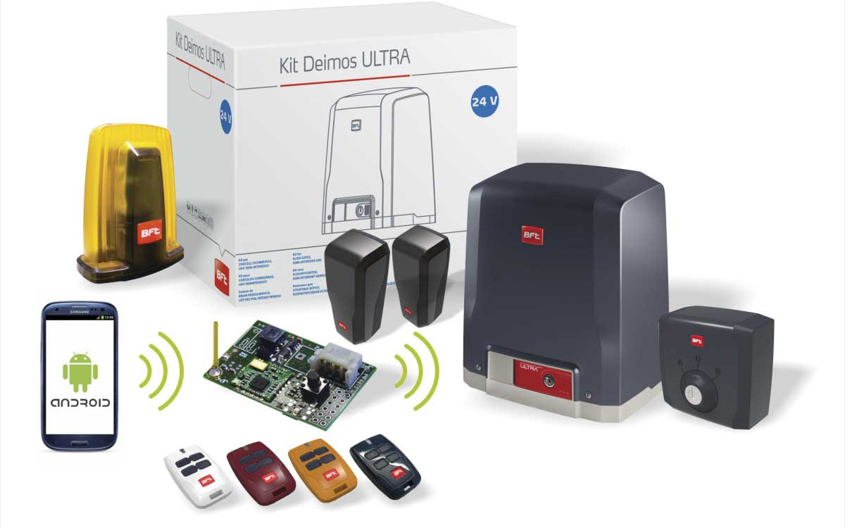 automatizare poarta culisanta DEIMOS-A600-ULTRA-BT-KIT