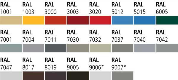 culori usi metalice multifunctionale industriale 2
