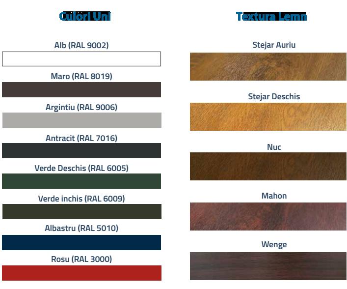 culori usi de garaj sectionale