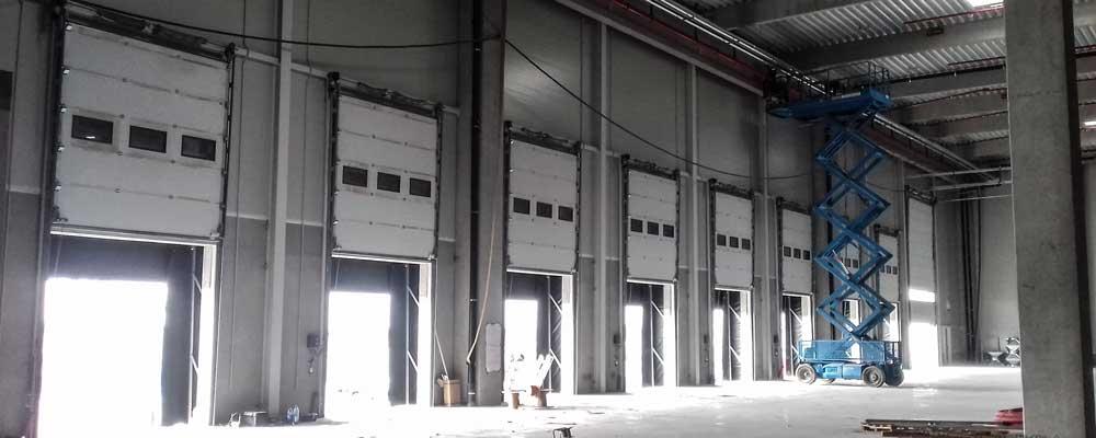 usi de garaj sectionale industriale automatizate -HB construct